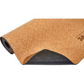 CAMPZ Cork Yoga Mat M Vrikshasana brown